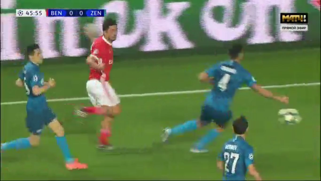 10-12-2019 - Benfica 3-0 Zenit St. Petersburg (CHAMPIONS LEAGUE)