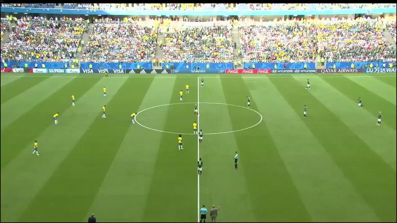 02-07-2018 - Brazil 2-0 Mexico (WORLD CUP 2018)
