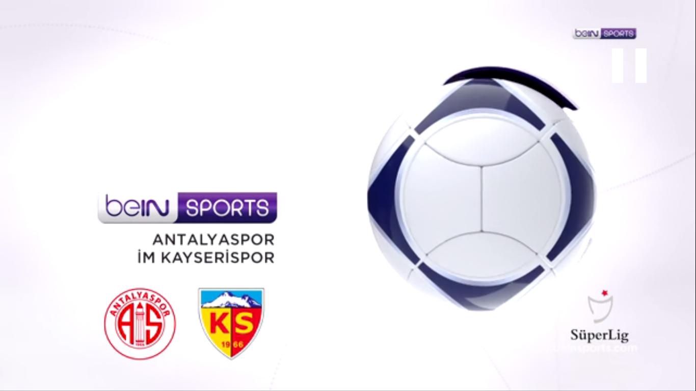 14-09-2019 - Antalyaspor 2-2 Kayserispor