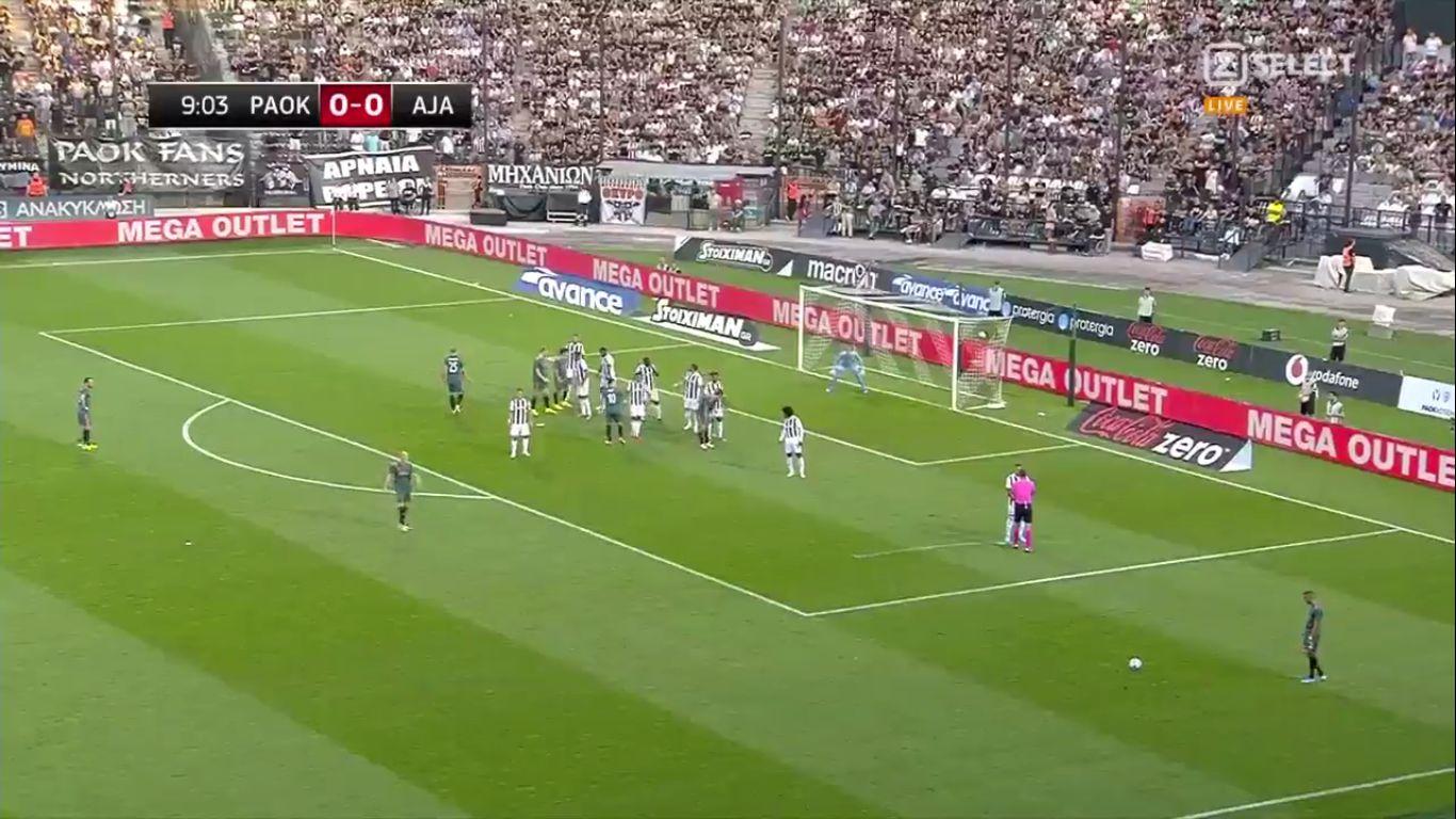 06-08-2019 - PAOK Thessaloniki FC 2-2 Ajax (CHAMPIONS LEAGUE QUALIF.)