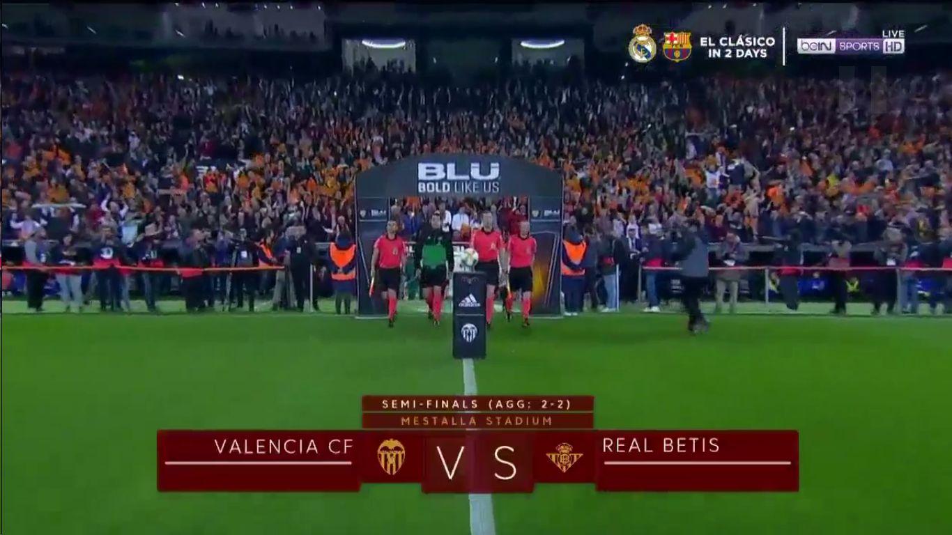 28-02-2019 - Valencia 1-0 Real Betis (COPA DEL REY)