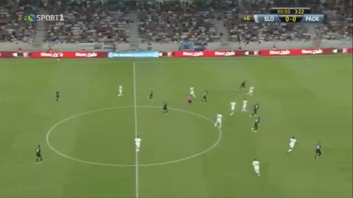 22-08-2019 - Slovan Bratislava 1-0 PAOK Thessaloniki FC (EUROPA LEAGUE QUALIF.)