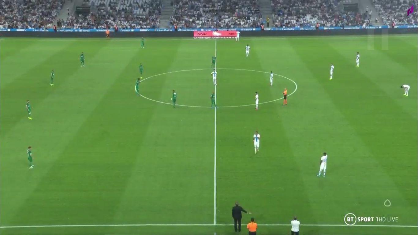 01-09-2019 - Marseille 1-0 Saint-Etienne