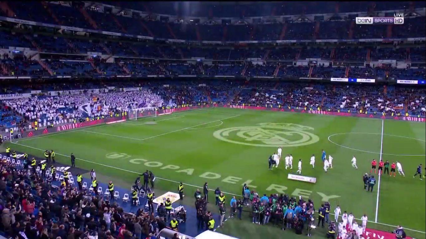 09-01-2019 - Real Madrid 3-0 Leganes (COPA DEL REY)