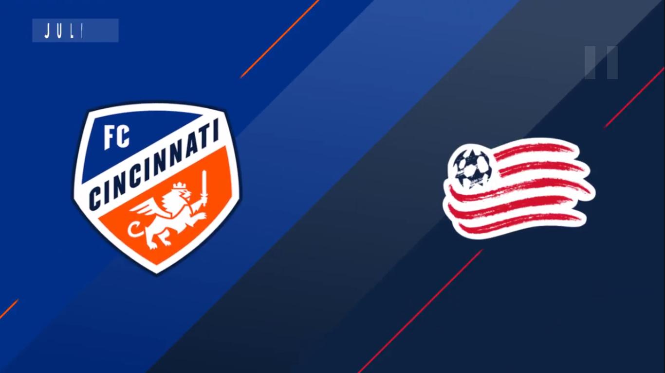 22-07-2019 - FC Cincinnati 0-2 New England Revolution