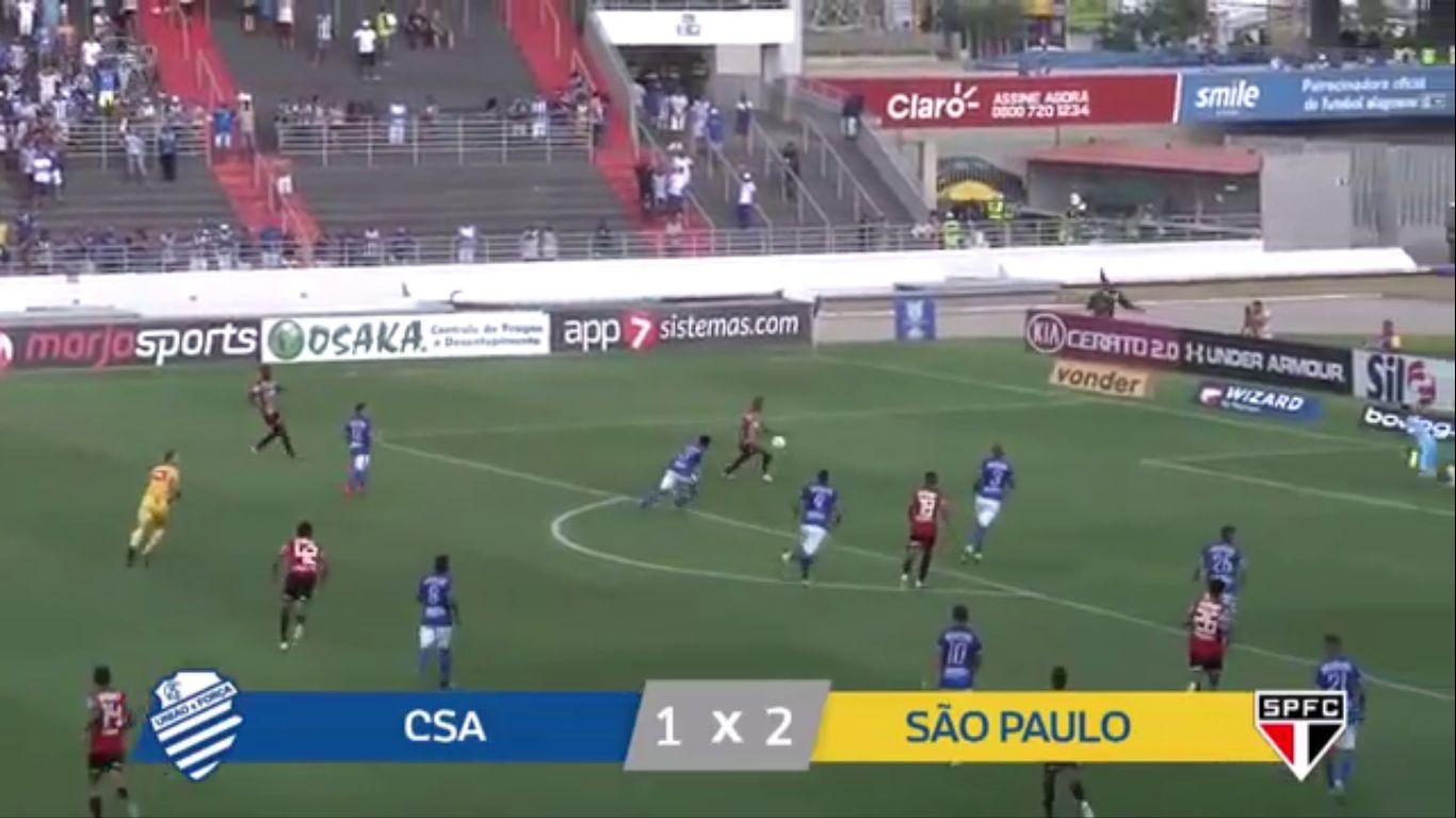 09-12-2019 - CS Alagoano AL 1-2 Sao Paulo