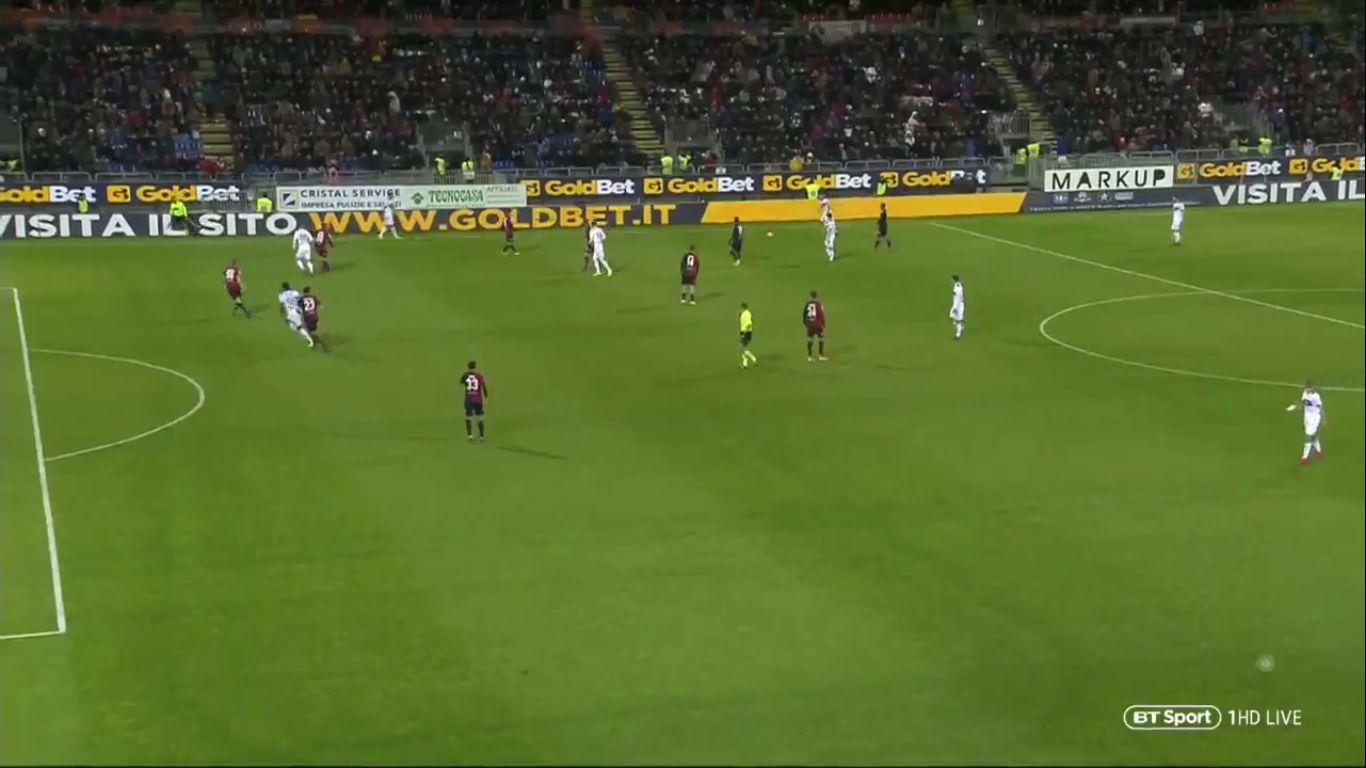 14-01-2019 - Cagliari 0-2 Atalanta (COPPA ITALIA)