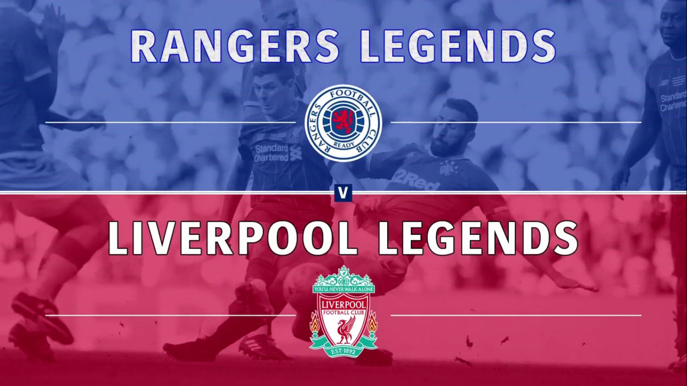 12-10-2019 - Rangers Legends 2-3 Liverpool Legends (FRIENDLY)