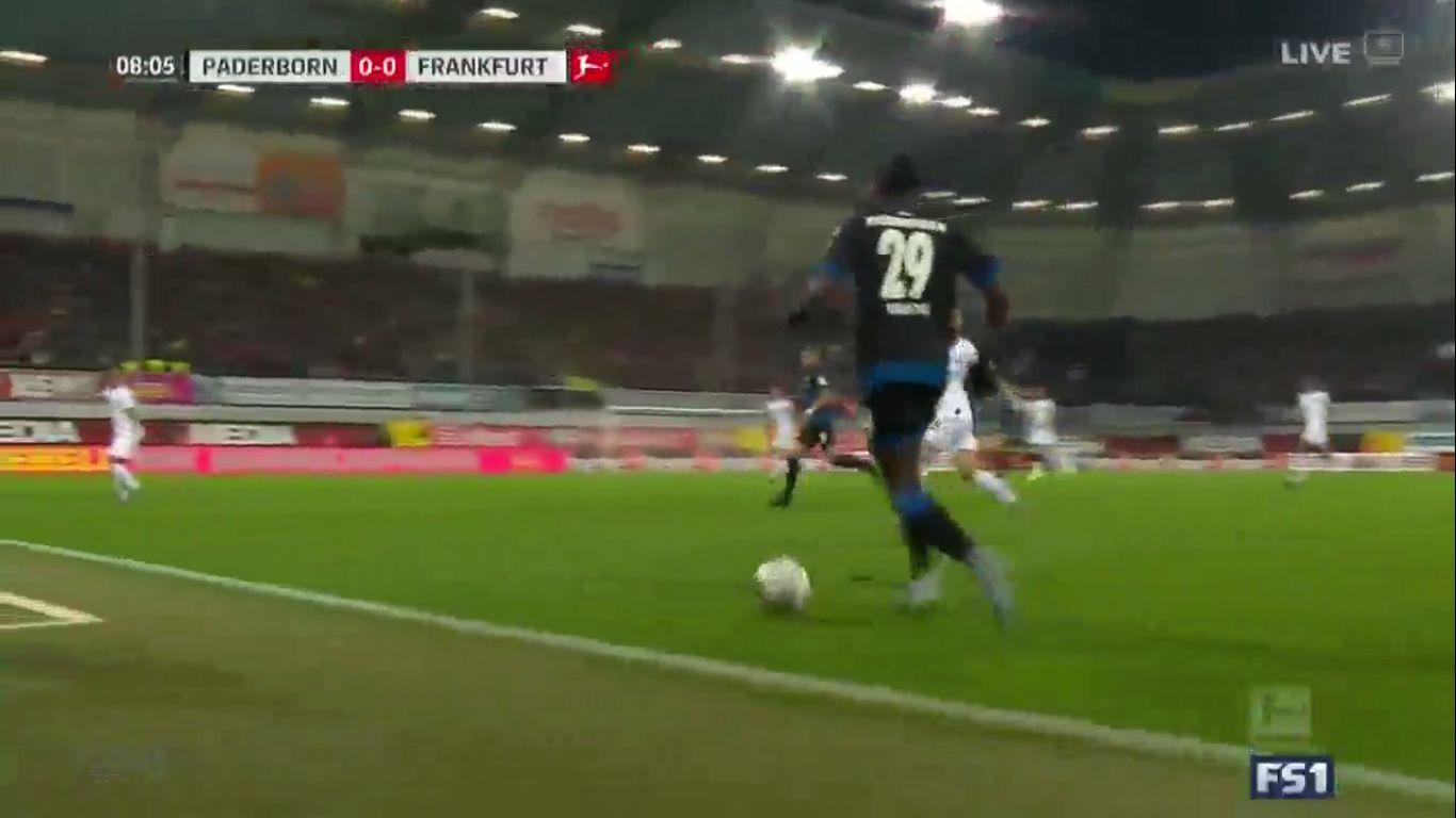 22-12-2019 - SC Paderborn 07 2-1 Eintracht Frankfurt