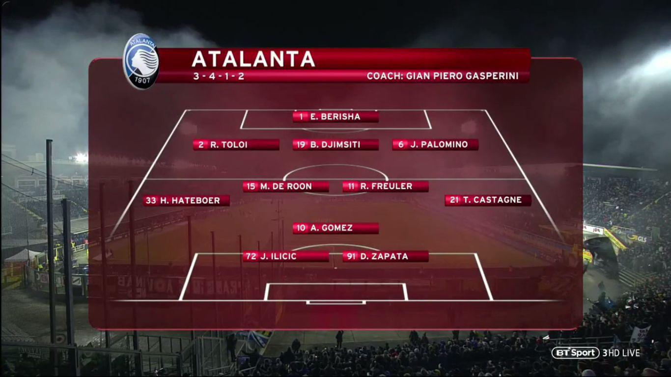 30-01-2019 - Atalanta 3-0 Juventus (COPPA ITALIA)