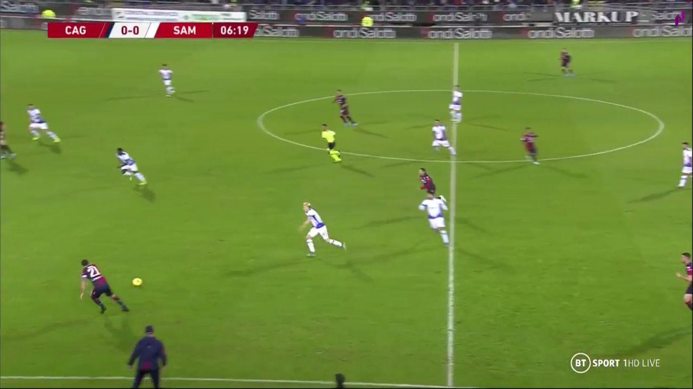 05-12-2019 - Cagliari 2-1 Sampdoria (COPPA ITALIA)