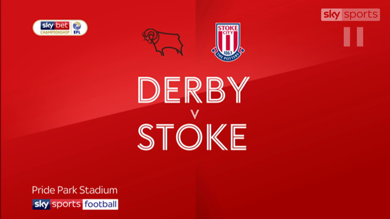 13-03-2019 - Derby County 0-0 Stoke City (CHAMPIONSHIP)