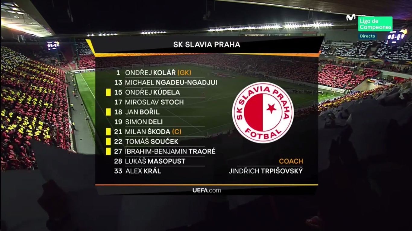 14-03-2019 - Slavia Prague 4-3 Sevilla (EUROPA LEAGUE)
