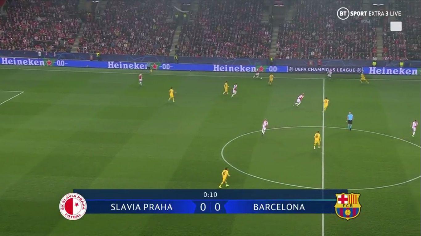 23-10-2019 - Slavia Prague 1-2 Barcelona (CHAMPIONS LEAGUE)