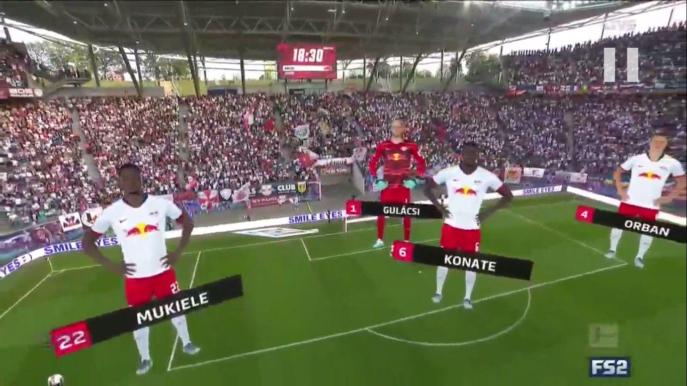 14-09-2019 - RasenBallsport Leipzig 1-1 FC Bayern Munchen