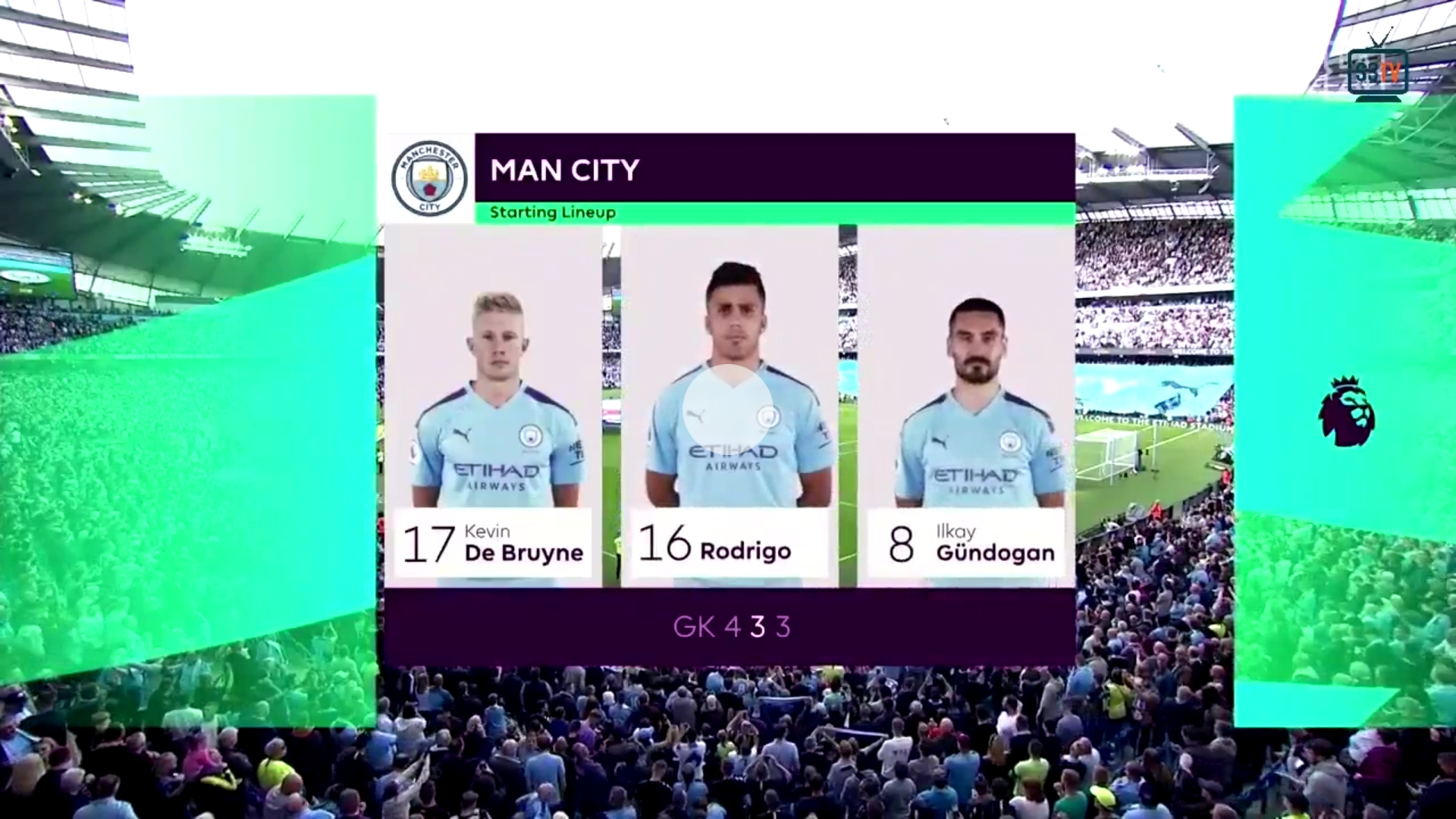 17-08-2019 - Manchester City 2-2 Tottenham Hotspur