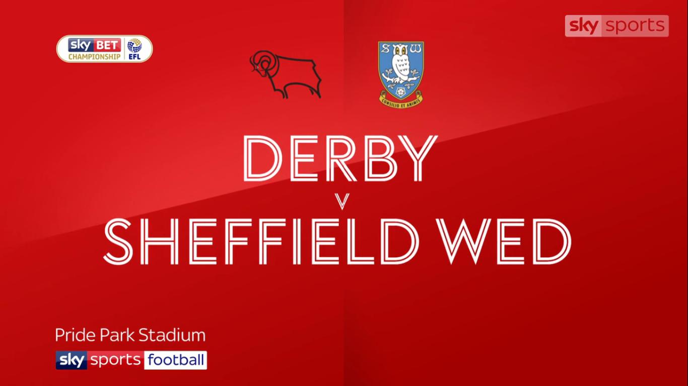 Derby County 2-0 Sheffield Wednesday (CHAMPIONSHIP)
