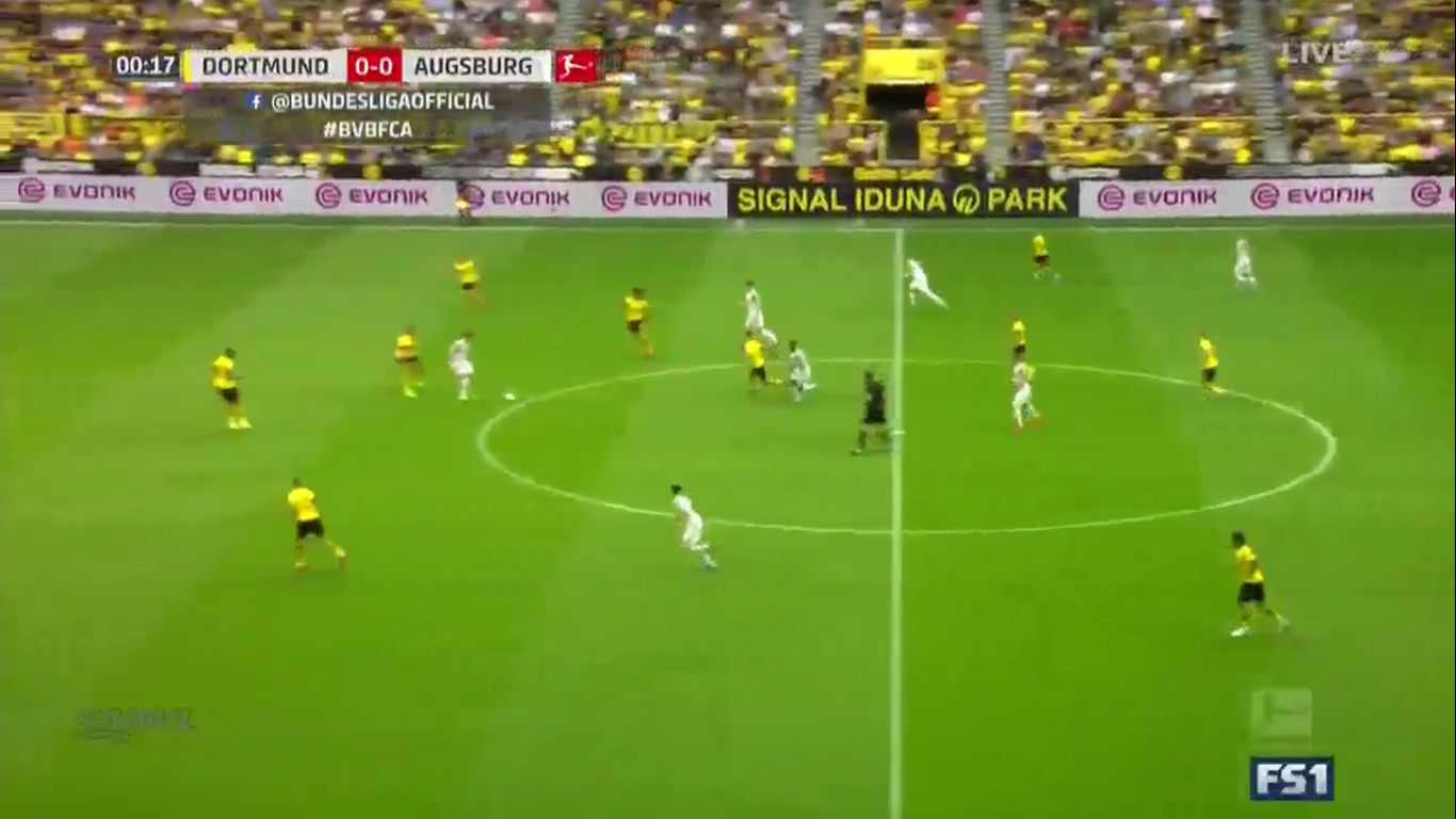 17-08-2019 - Borussia Dortmund 5-1 Augsburg