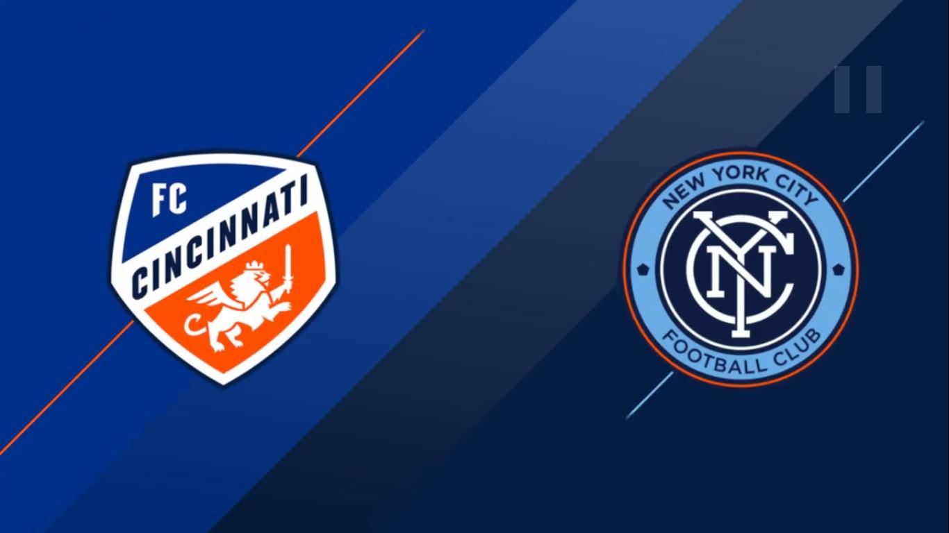 18-08-2019 - FC Cincinnati 1-4 New York City FC