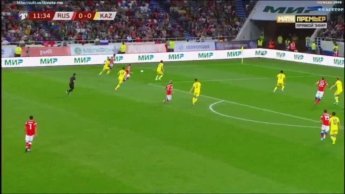09-09-2019 - Russia 1-0 Kazakhstan (EURO QUALIF.)