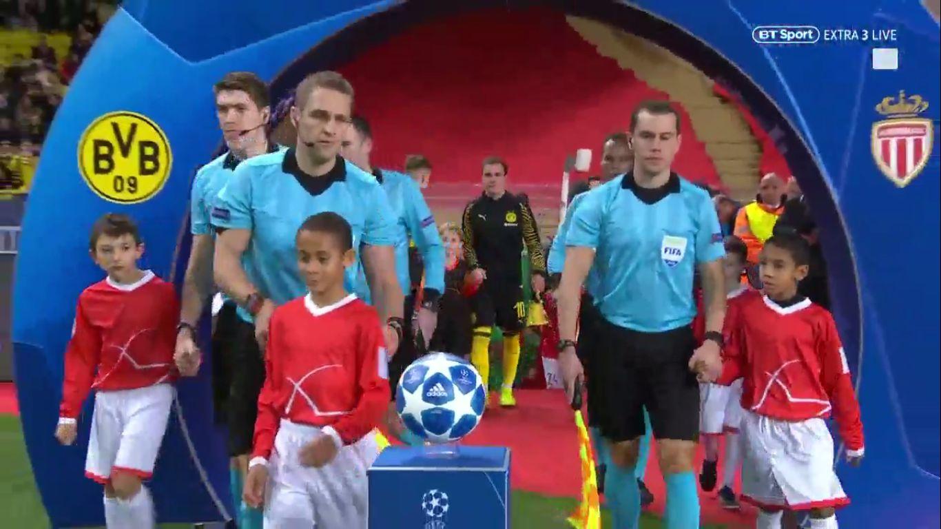 11-12-2018 - Monaco 0-2 Borussia Dortmund (CHAMPIONS LEAGUE)