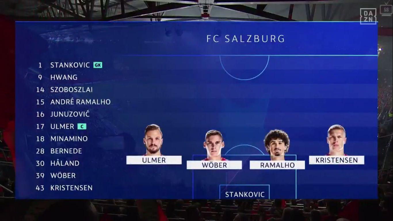 17-09-2019 - Salzburg 6-2 Genk (CHAMPIONS LEAGUE)