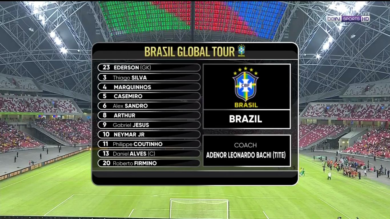 10-10-2019 - Brazil 1-1 Senegal (FRIENDLY)