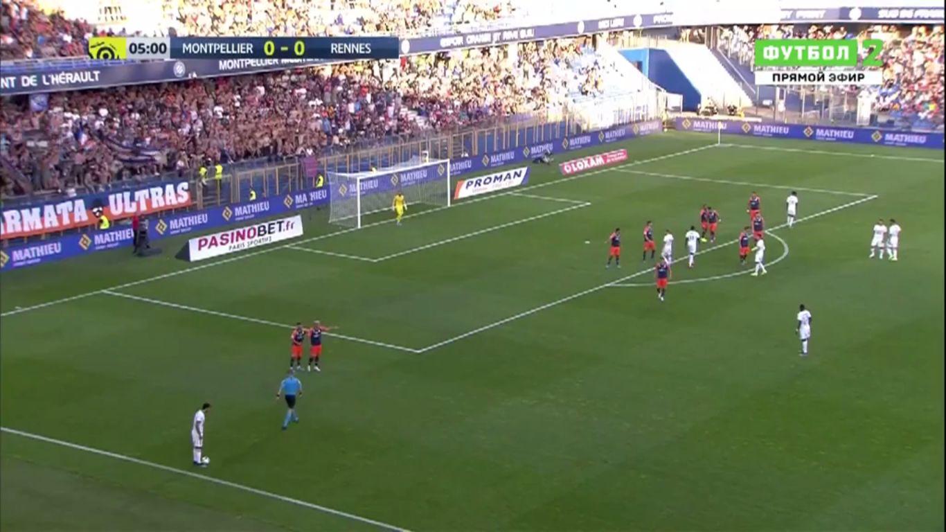 10-08-2019 - Montpellier 0-1 Rennes
