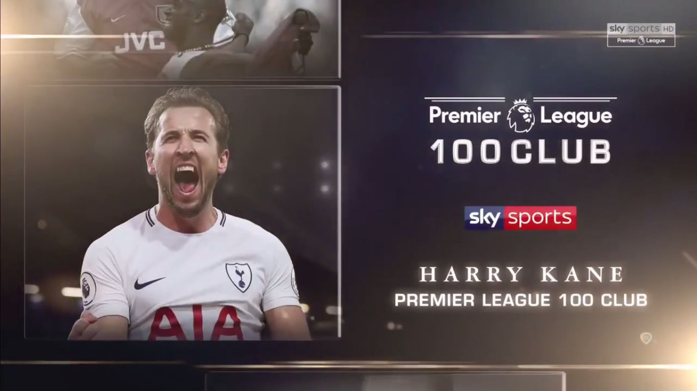 Premier League 100 Club - Harry Kane
