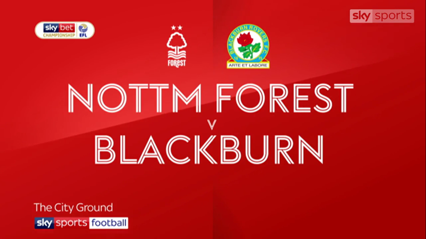 13-04-2019 - Nottingham Forest 1-2 Blackburn Rovers (CHAMPIONSHIP)