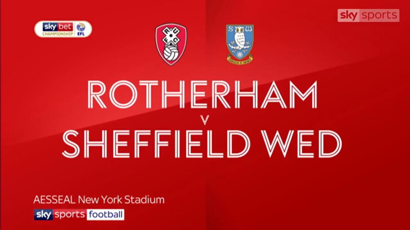 16-02-2019 - Rotherham United 2-2 Sheffield Wednesday (CHAMPIONSHIP)