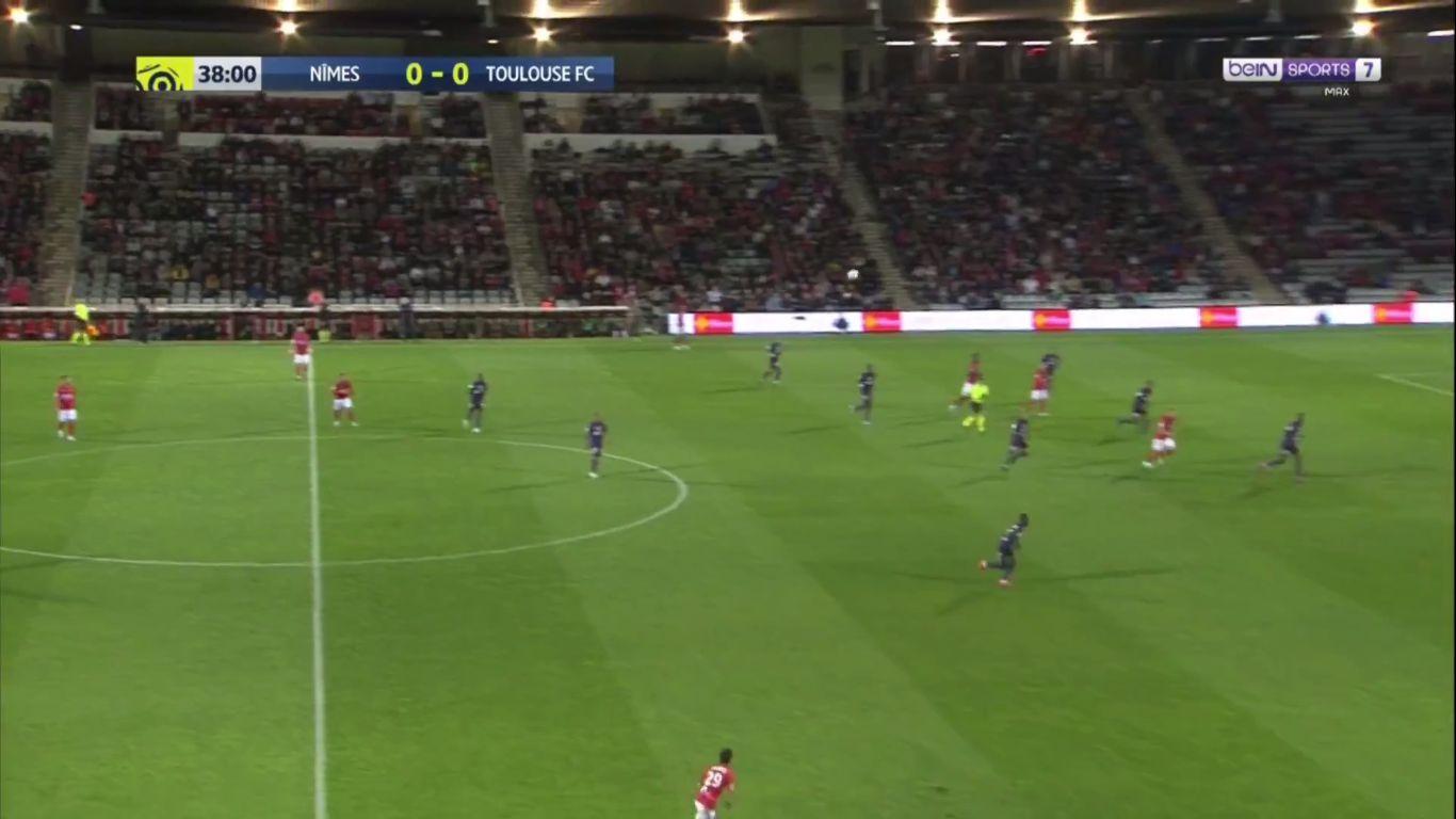 21-09-2019 - Nimes 1-0 Toulouse