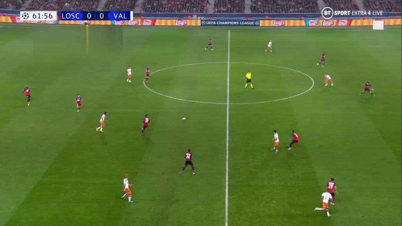 23-10-2019 - Lille 1-1 Valencia (CHAMPIONS LEAGUE)