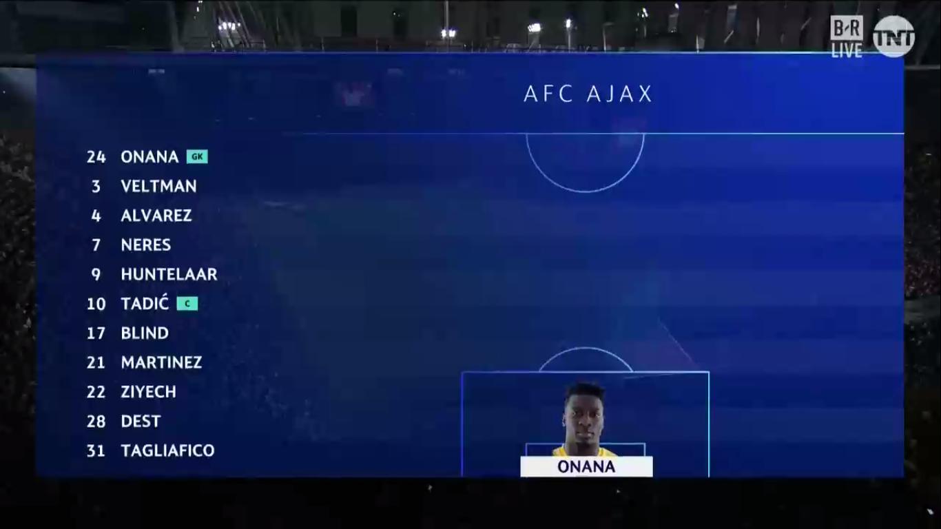 28-08-2019 - Ajax 2-0 APOEL Nicosia (CHAMPIONS LEAGUE QUALIF.)