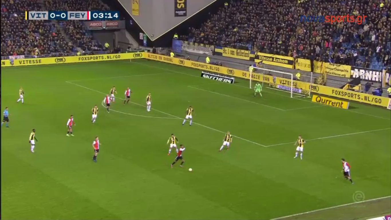 10-03-2019 - Vitesse 1-1 Feyenoord