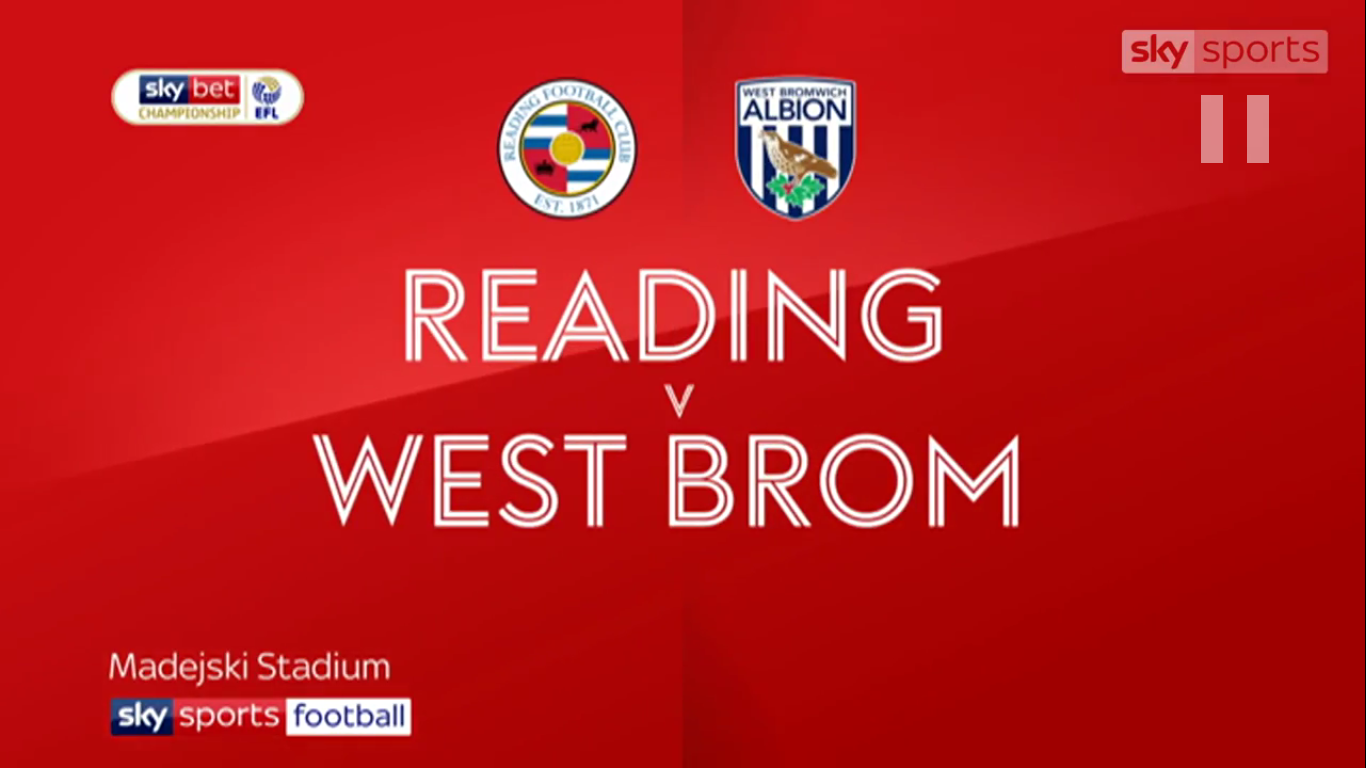 22-04-2019 - Reading 0-0 West Bromwich Albion (CHAMPIONSHIP)