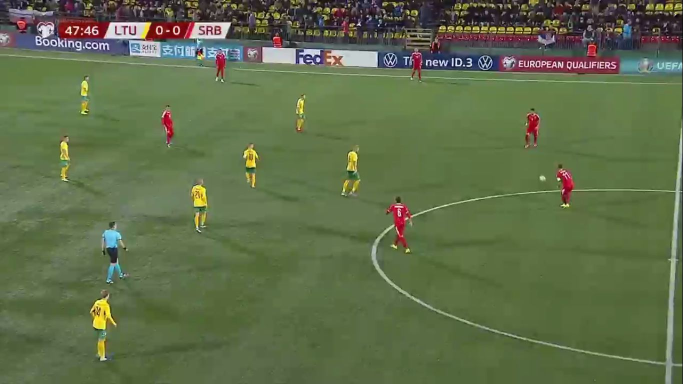 14-10-2019 - Lithuania 1-2 Serbia (EURO QUALIF.)