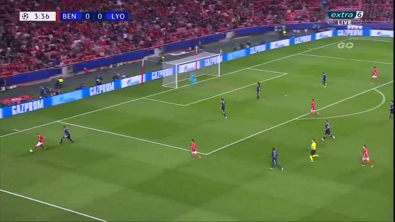 23-10-2019 - Benfica 2-1 Lyon (CHAMPIONS LEAGUE)