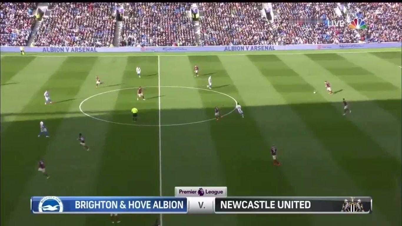 27-04-2019 - Brighton & Hove Albion 1-1 Newcastle United