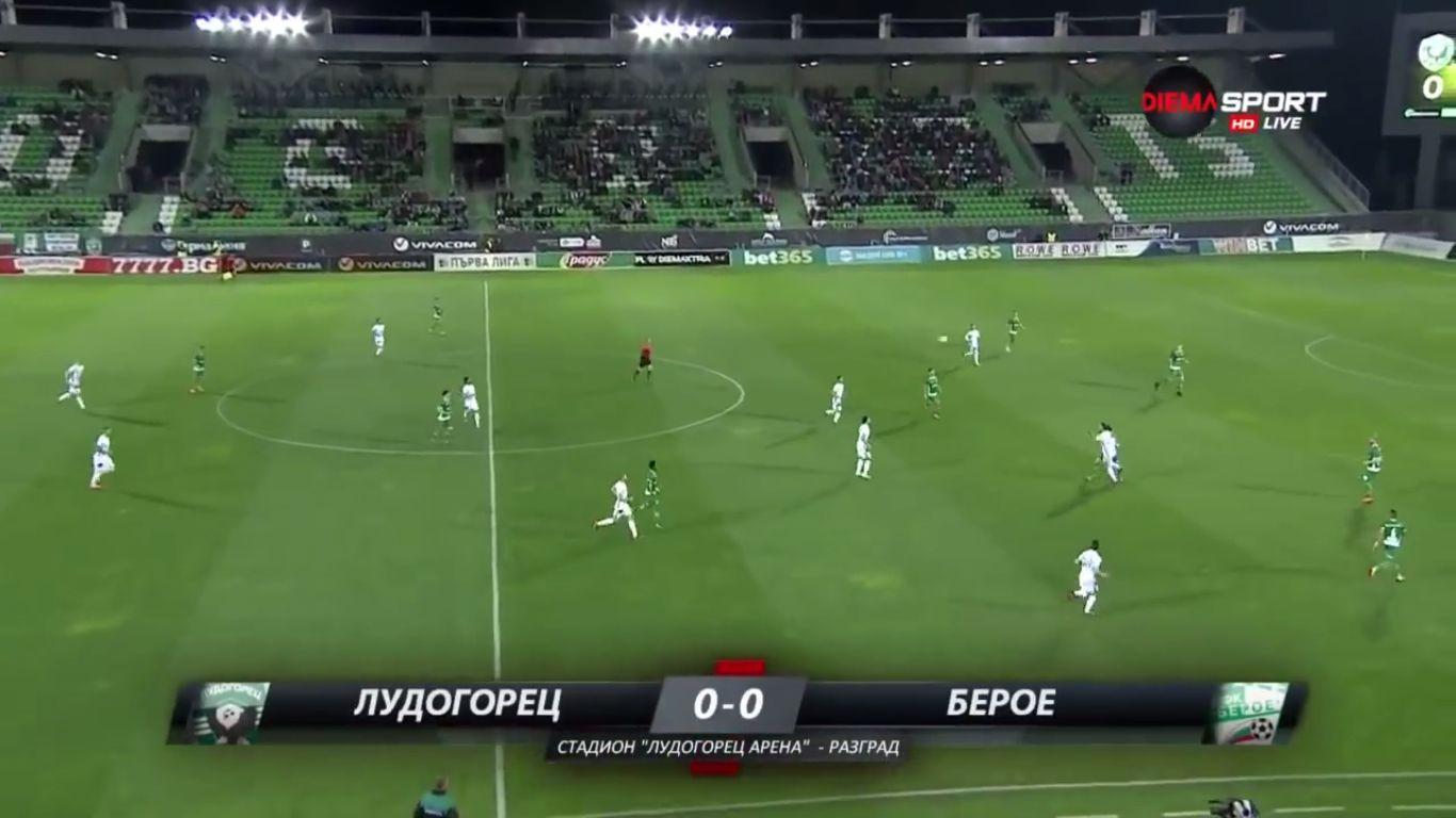 18-04-2018 - Ludogorets Razgrad 7-0 Beroe