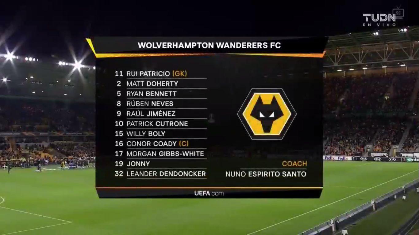 19-09-2019 - Wolverhampton Wanderers 0-1 SC Braga (EUROPA LEAGUE)
