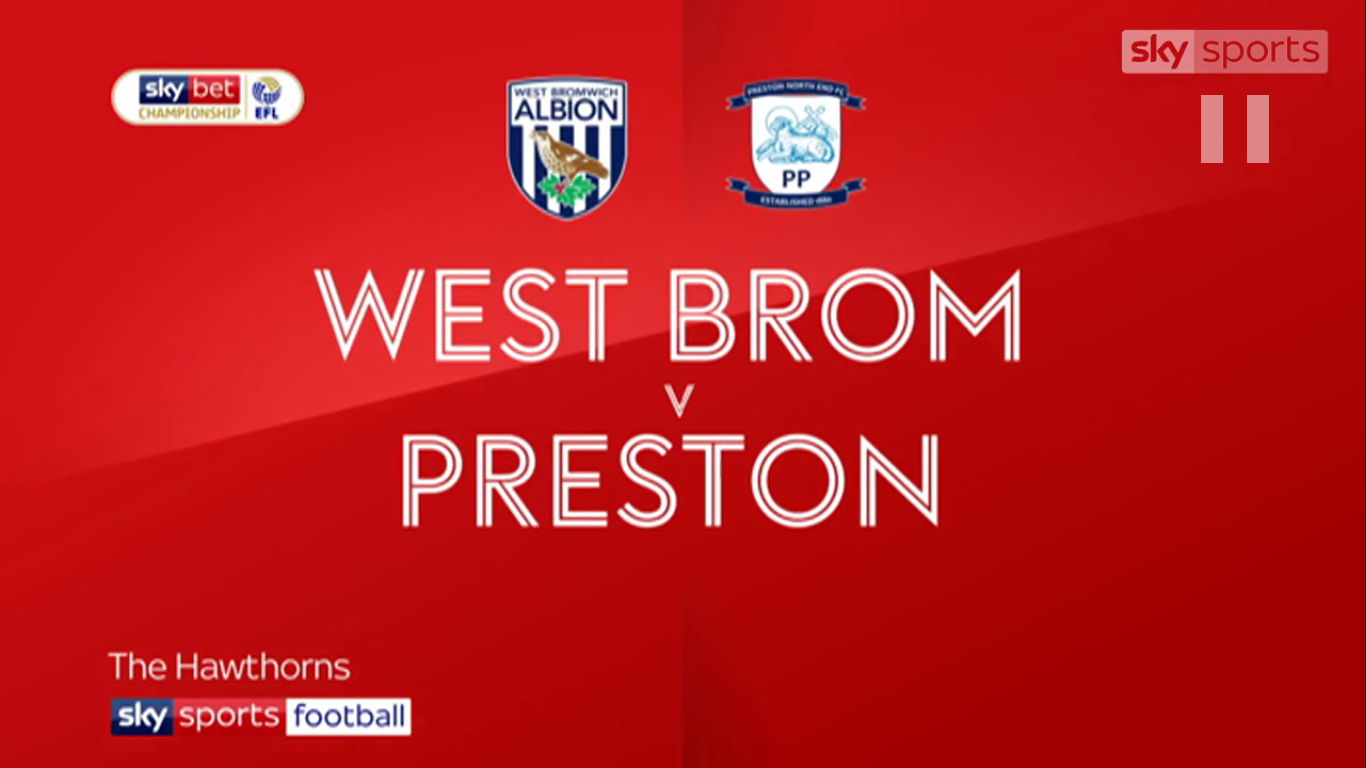 13-04-2019 - West Bromwich Albion 4-1 Preston North End (CHAMPIONSHIP)