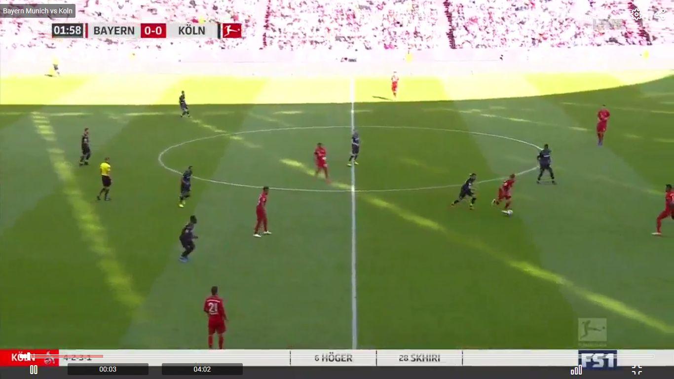 21-09-2019 - FC Bayern Munchen 4-0 1. FC Koln