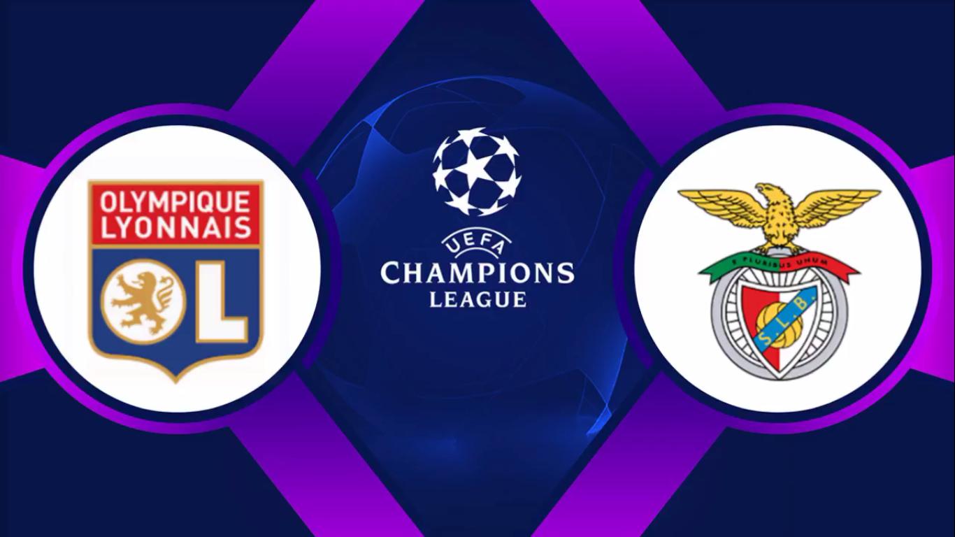 05-11-2019 - Lyon 3-1 Benfica (CHAMPIONS LEAGUE)