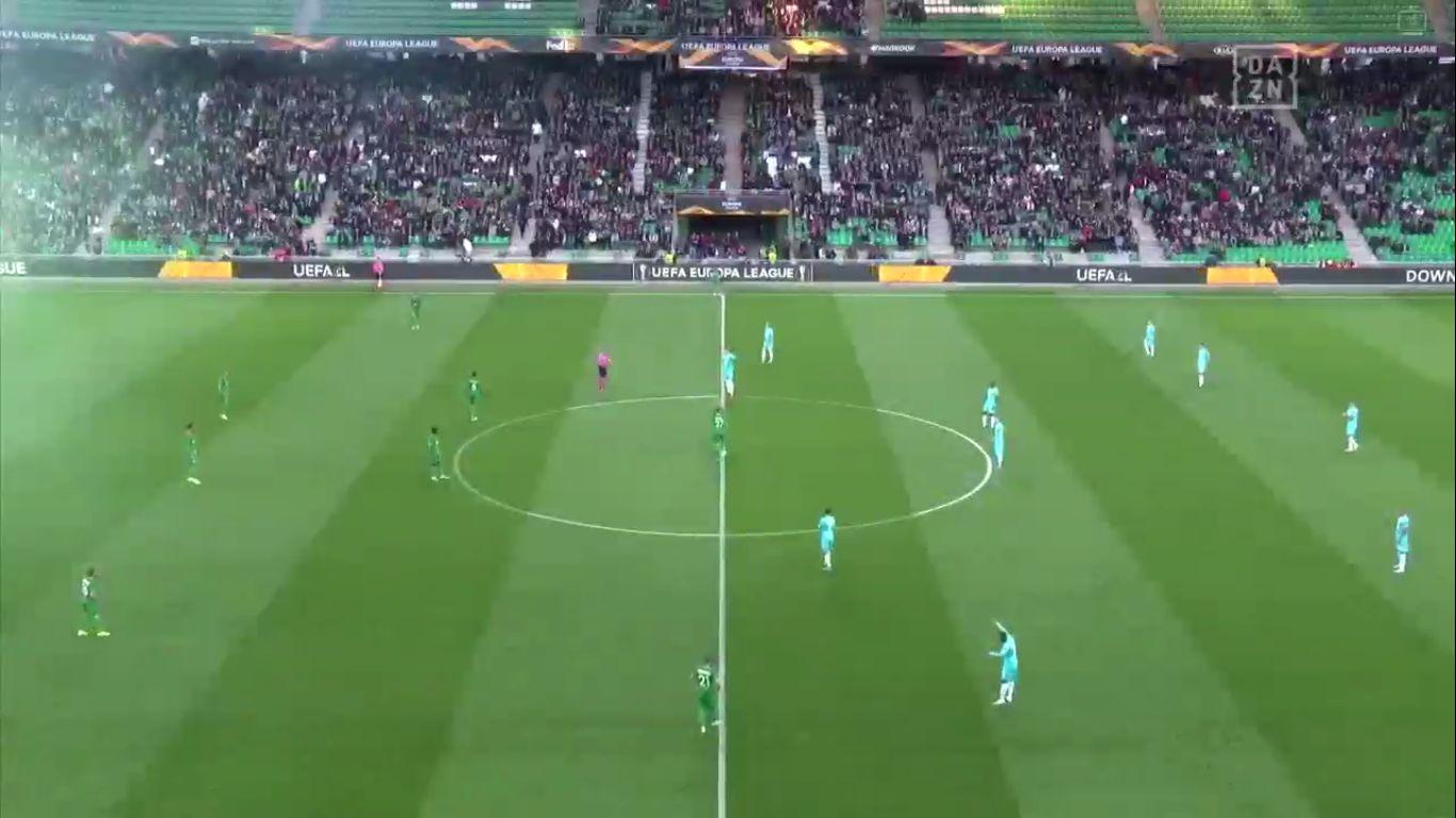 03-10-2019 - Saint-Etienne 1-1 Wolfsburg (EUROPA LEAGUE)