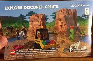 Lego Worlds Werbeflyer