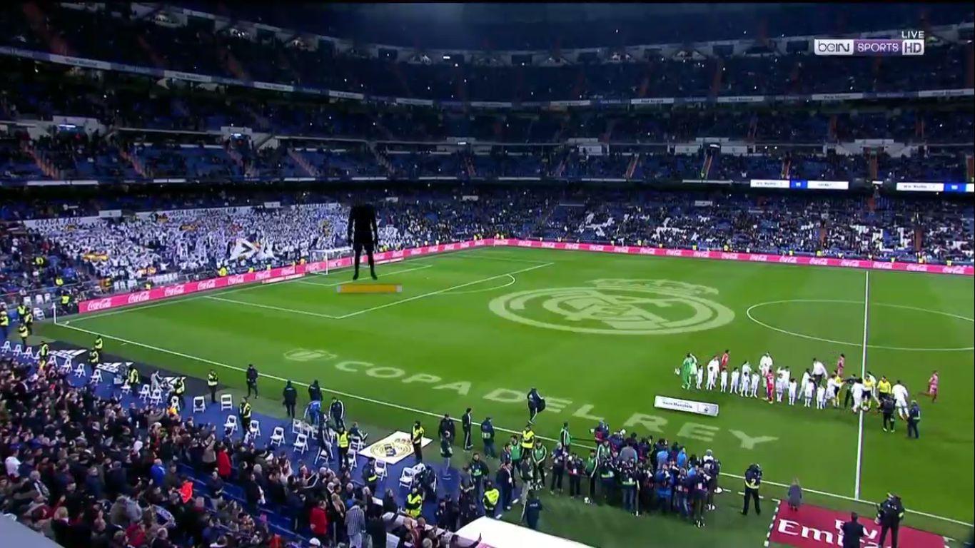 24-01-2019 - Real Madrid 4-2 Girona (COPA DEL REY)