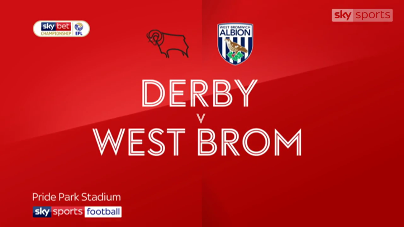 05-05-2019 - Derby County 3-1 West Bromwich Albion (CHAMPIONSHIP)