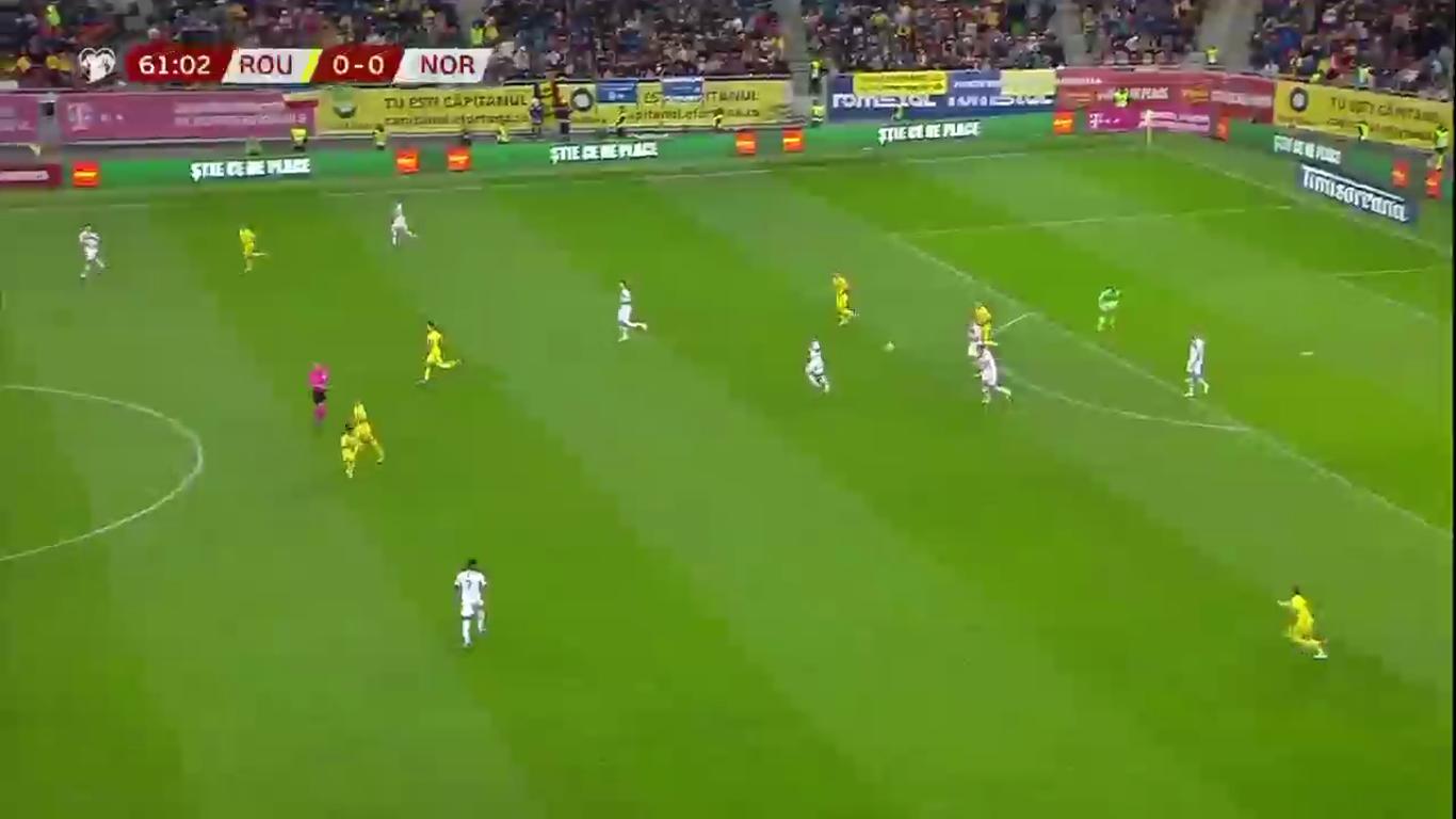 15-10-2019 - Romania 1-1 Norway (EURO QUALIF.)