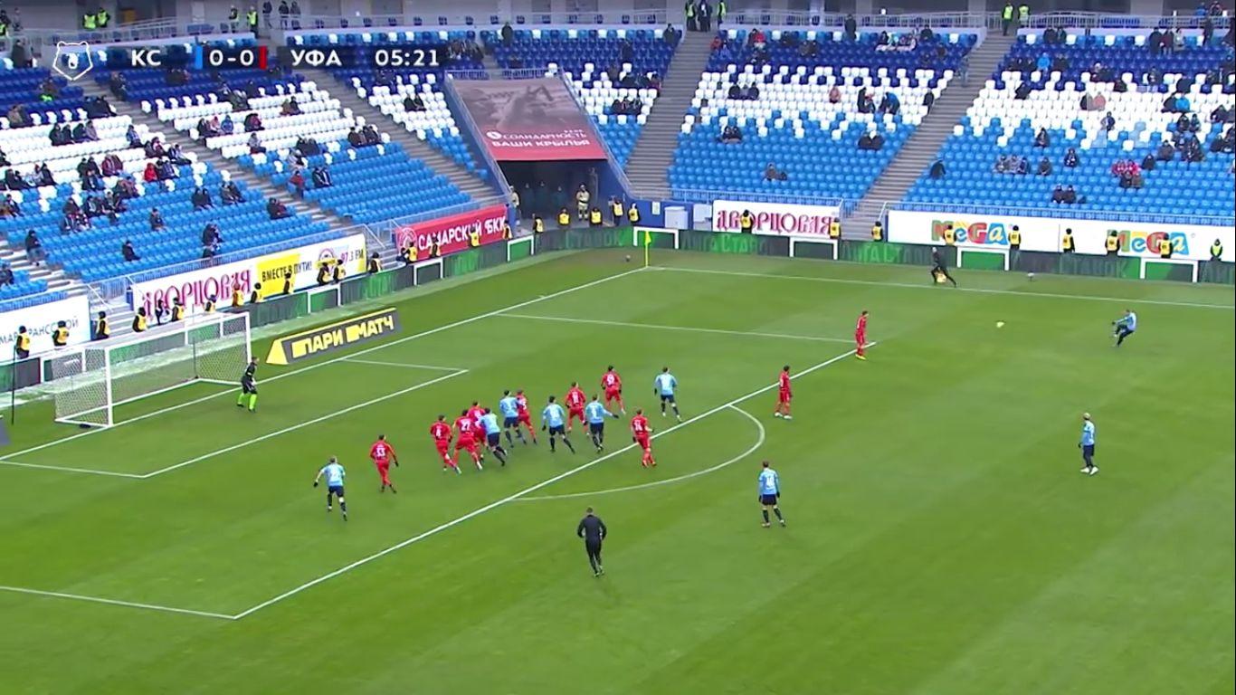 30-11-2019 - Krylya Sovetov Samara 0-1 FC Ufa